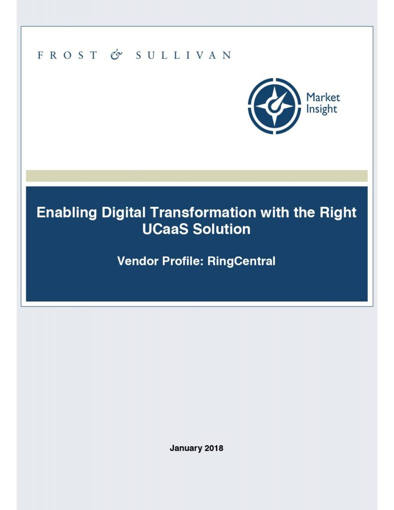 Enabling Digital Transformation with the Right UCaaS Solution