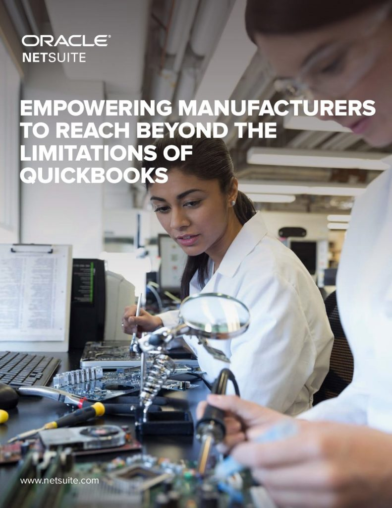 Empowering Manufacturers To Reach Beyond The Limitations Of Quickbooks