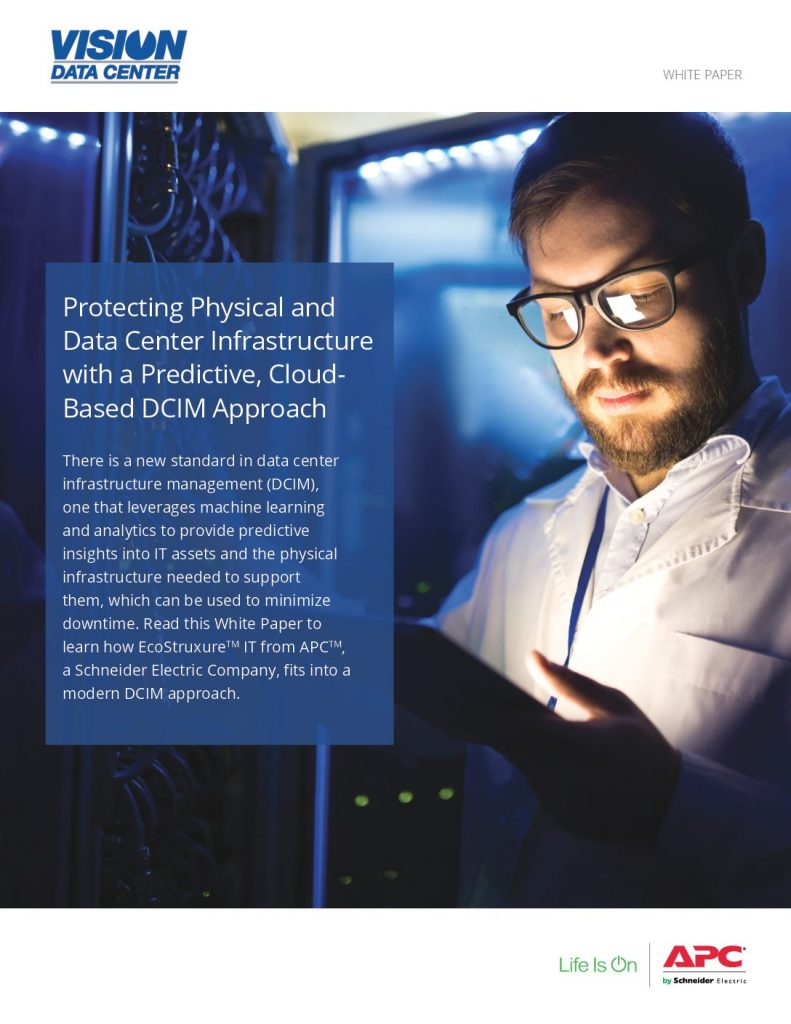 Benefits of Cloud-Based, Predictive DCIM Revealed