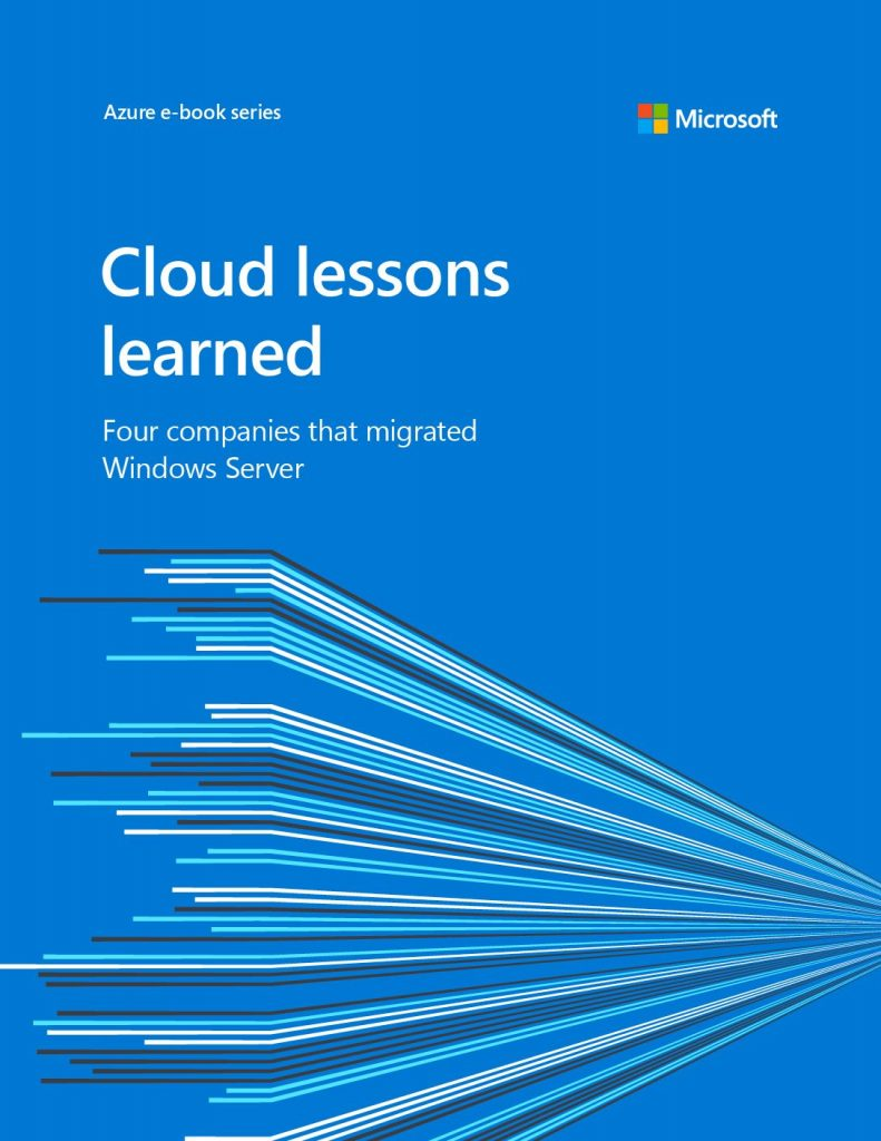 The Cloud Lessons Learned