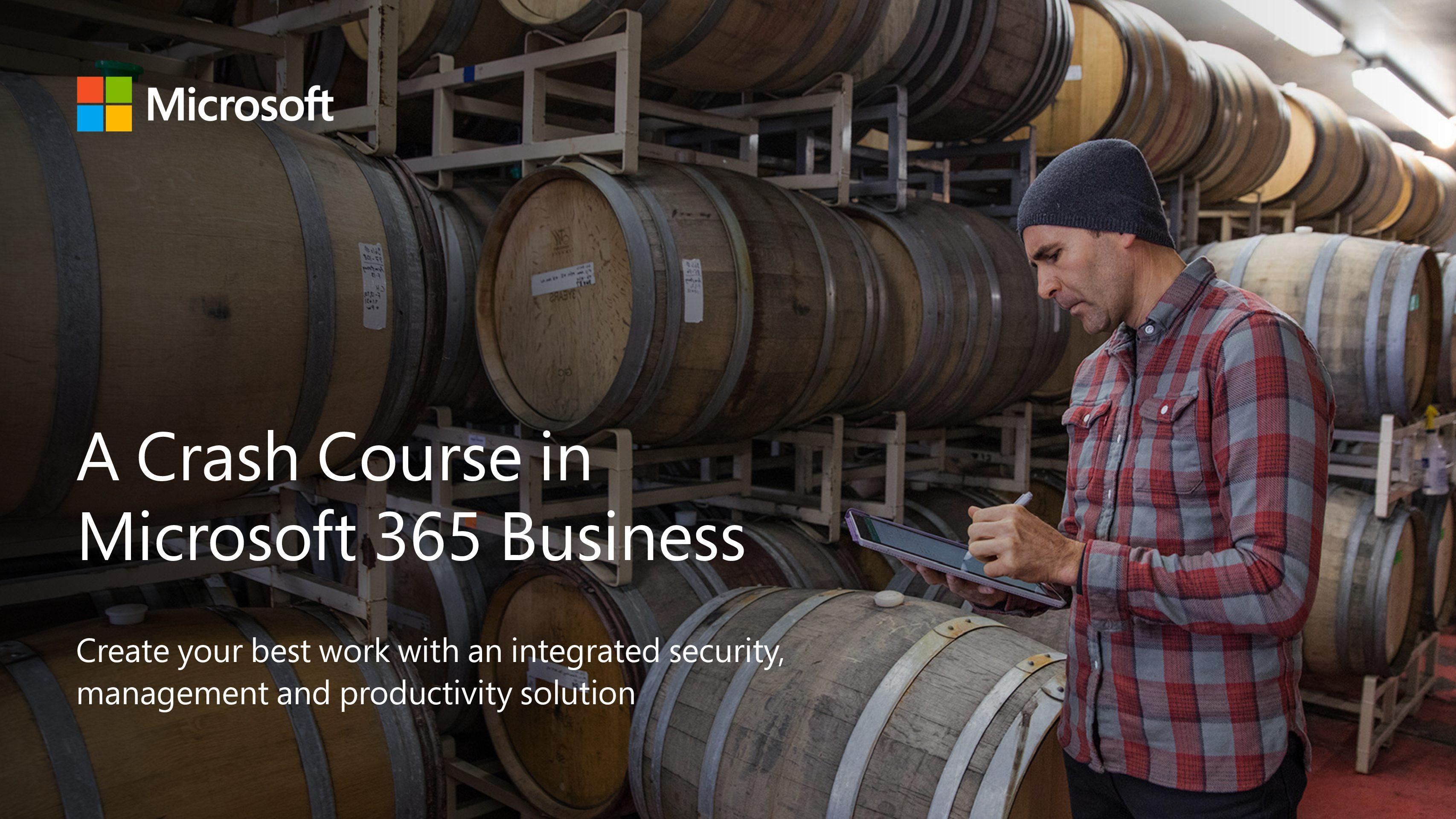 Crash Course in Microsoft 365 Business