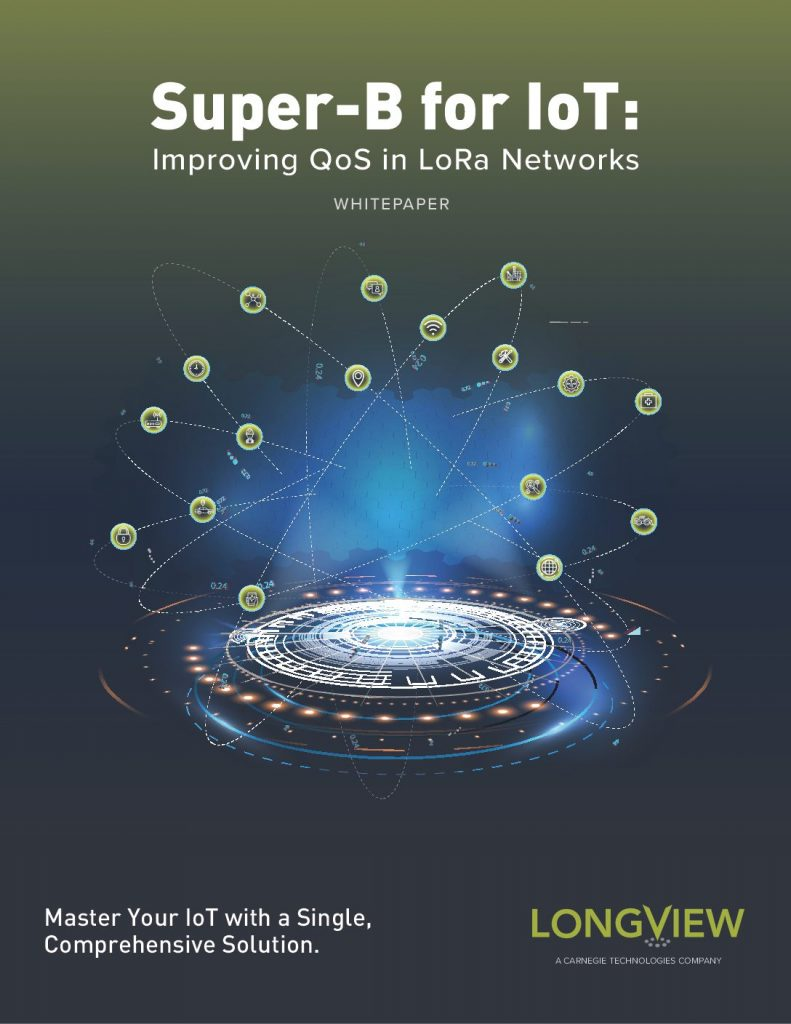 Super-B for IoT: Improving QoS in LoRa Networks
