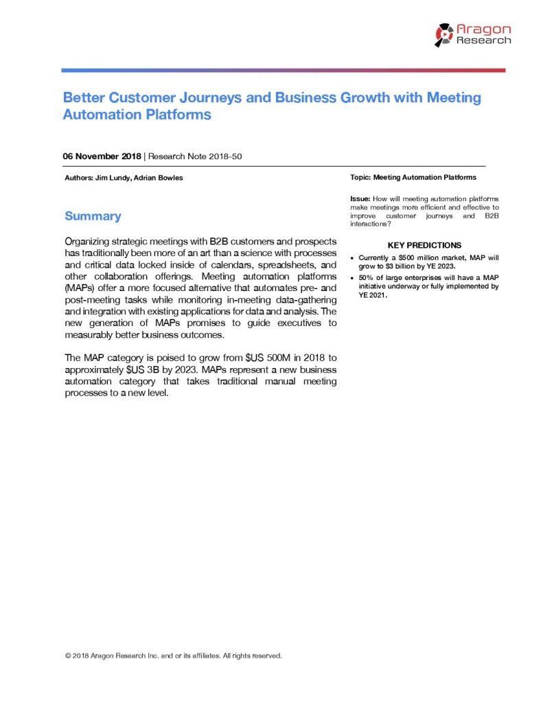 Better Customer Journeys and Business Growth with Meeting Automation Platforms