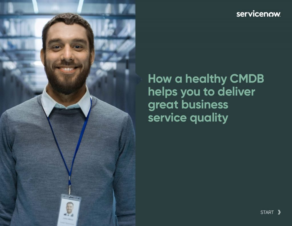 How a healthy CMDB helps you to deliver great business service quality
