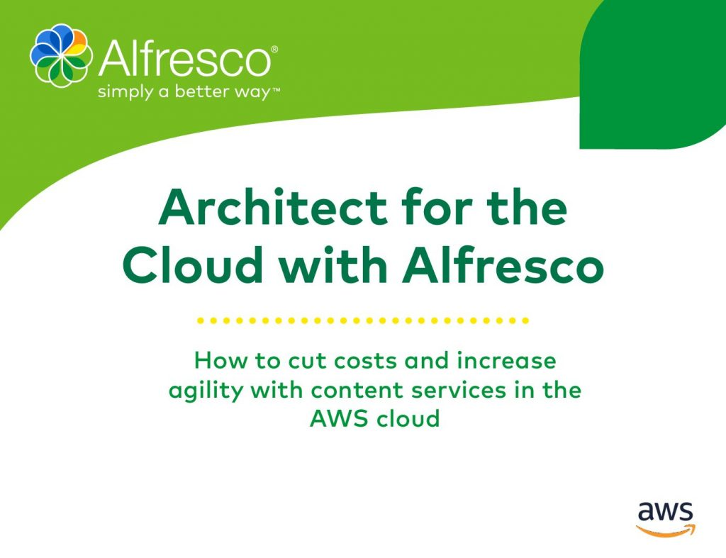 Architect for Cloud with Alfresco