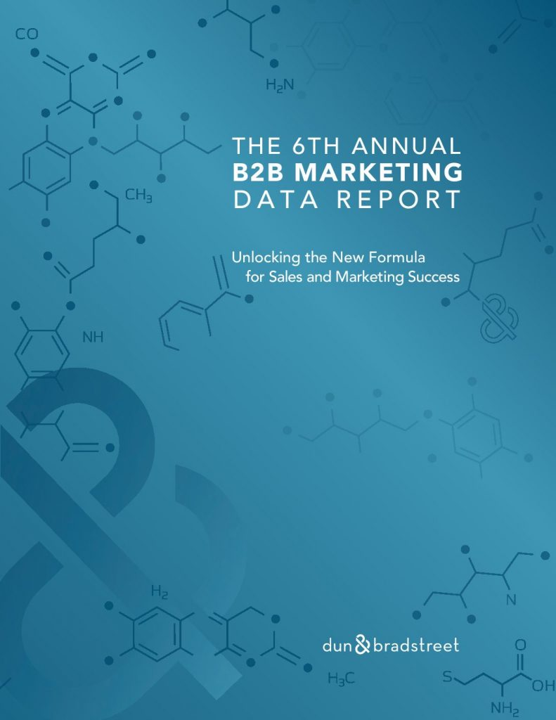 The 6th Annual B2B Marketing Data Report: Is Data Driving or Derailing Your Sales & Marketing Strategy?