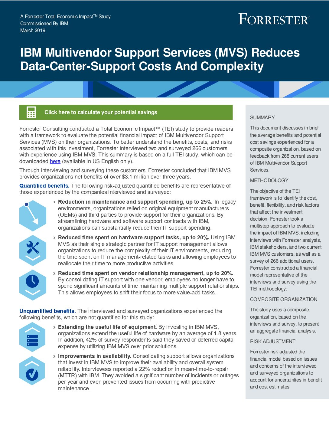 IBM Multivendor Support Services Reduces Data-Center-Support Costs And Complexity
