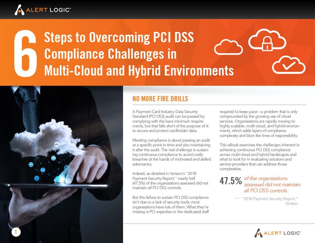6 Steps to Overcoming PCI DSS Compliance Challenges in Multi-Cloud & Hybrid Environments