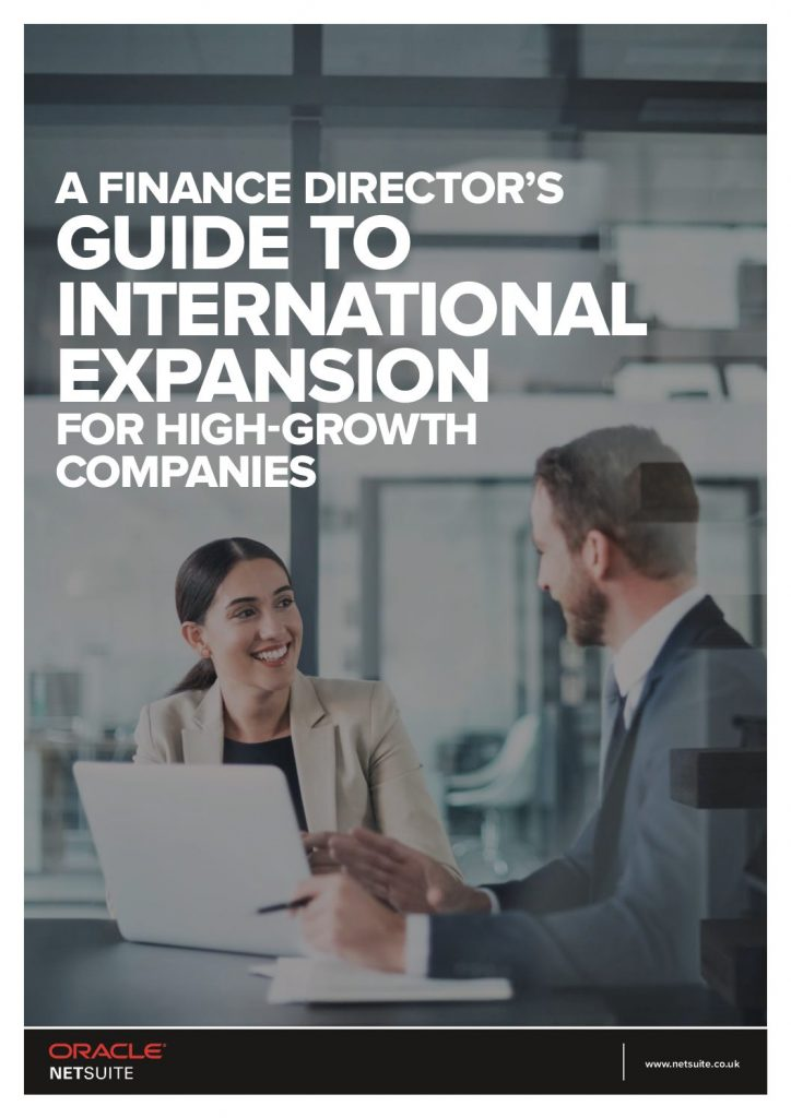 The Finance Director's Guide to International Expansion for High-Growth Companies