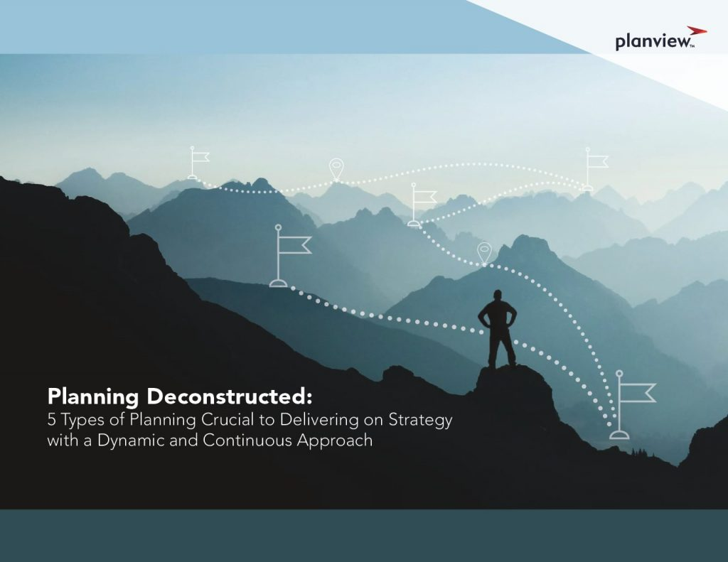 Planning Deconstructed: Five Types of Planning Crucial to Delivering on Strategy with a Dynamic and Continuous Approach