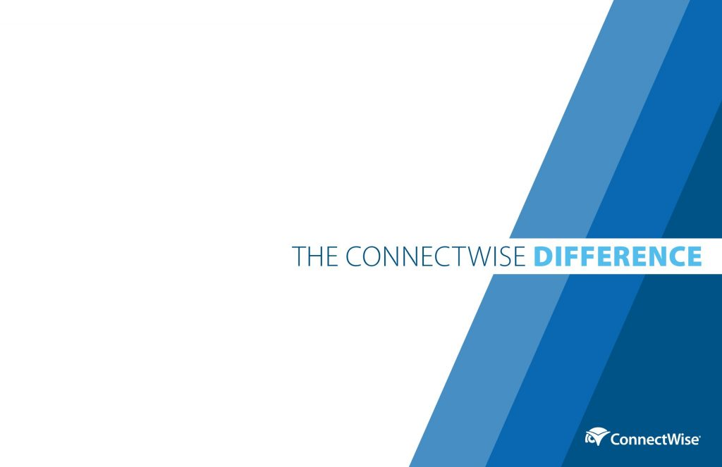 The ConnectWise Difference