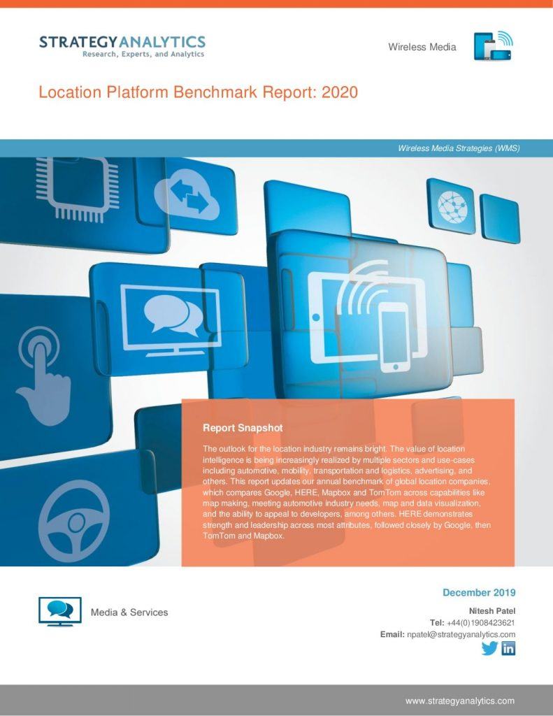 Location Platform Benchmark Report: 2020