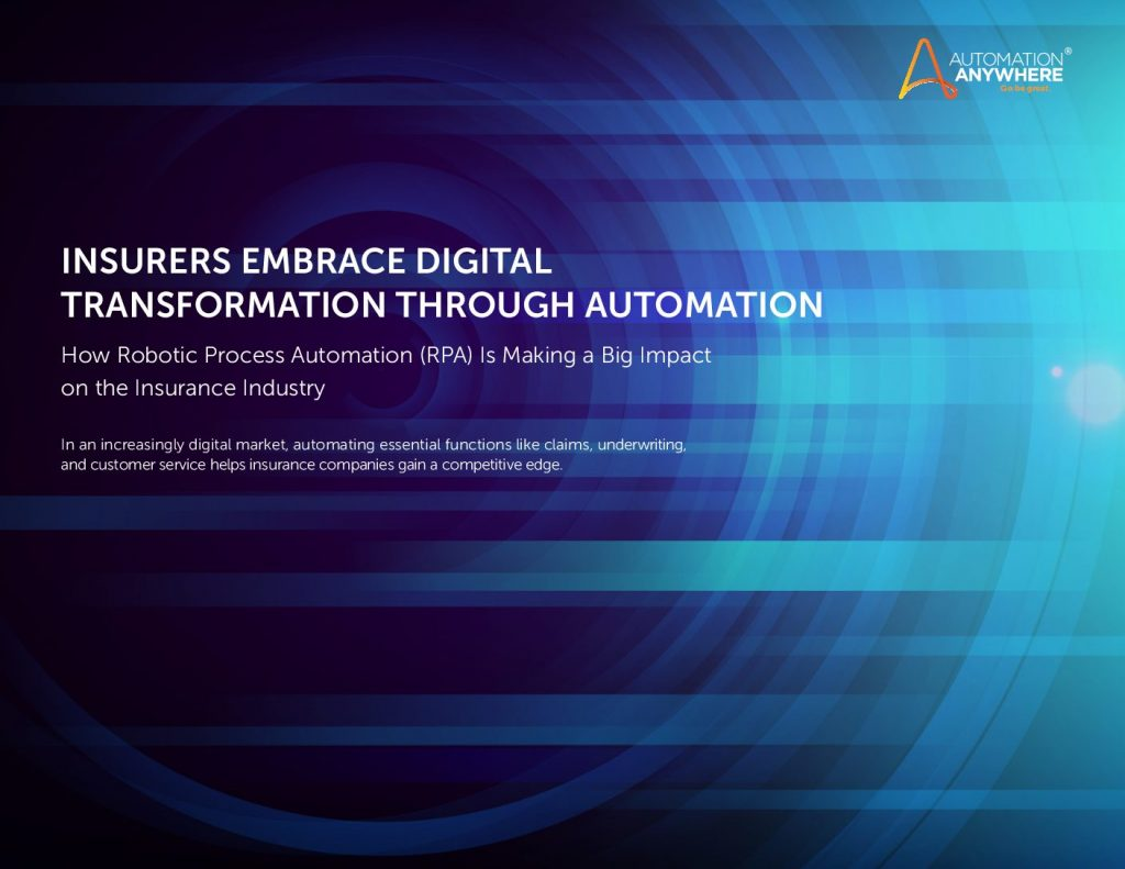 How RPA Impacts Every Part of the Insurance Value Chain