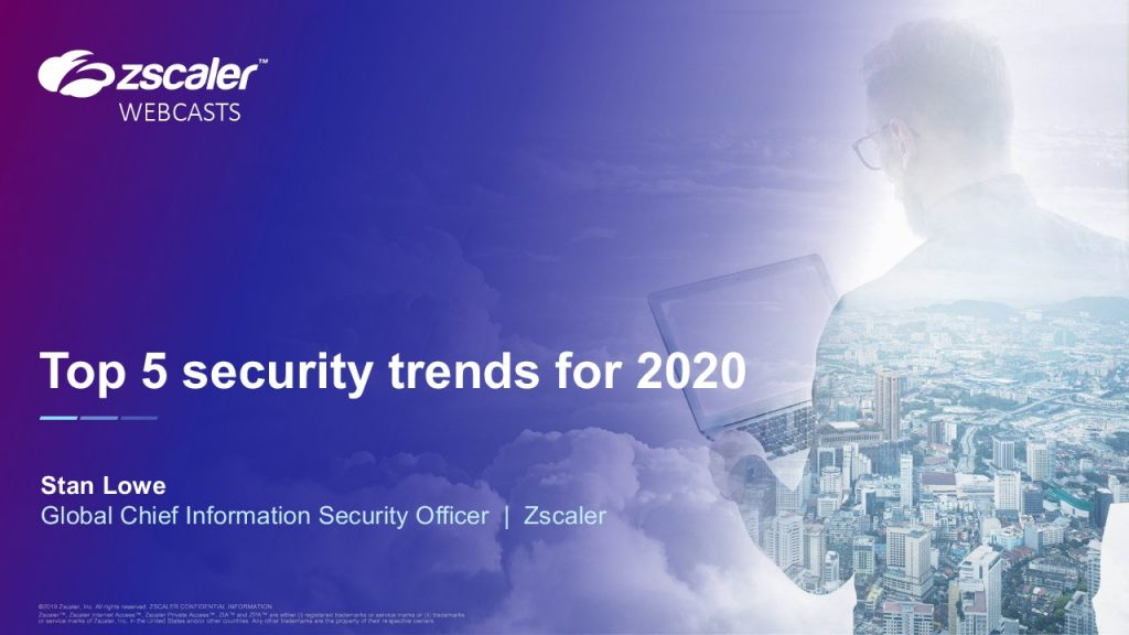 Top 5 Security Trends For 2020
