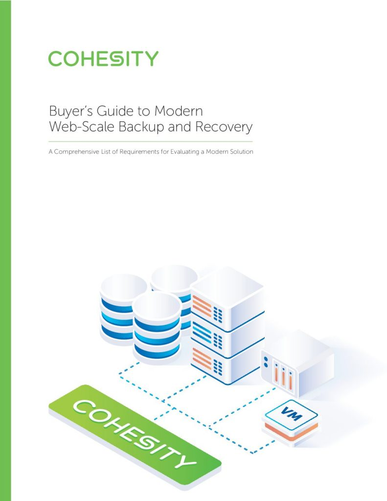 Buyer's Guide to Modern Backup