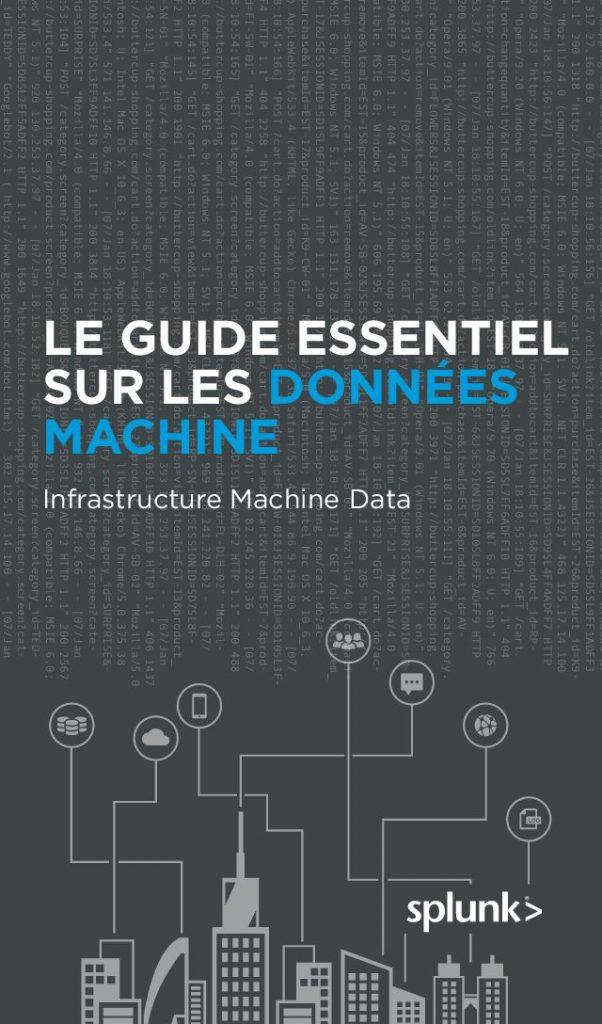 Guide essentiel sur les données machine : données machine des infrastructures