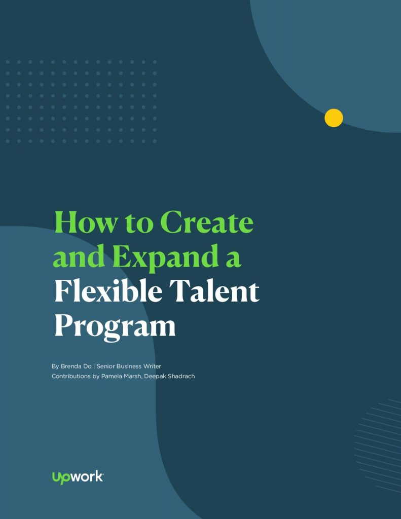 How to Create and Expand a Flexible Talent Program