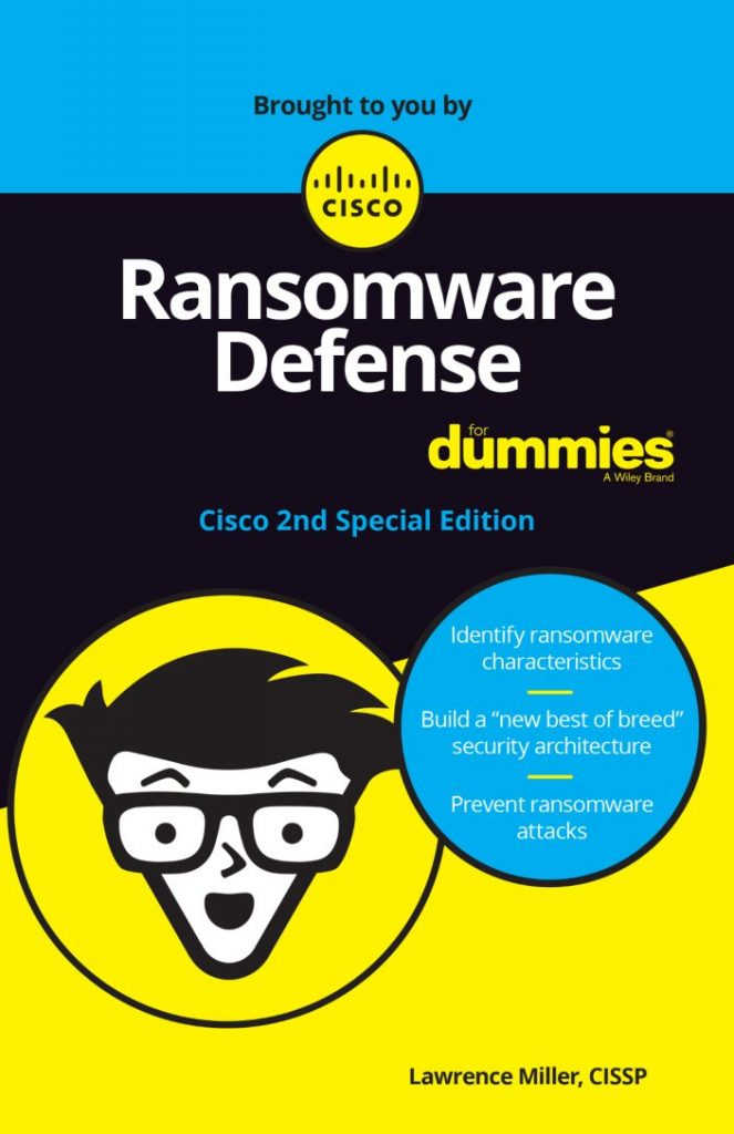 NEW for 2020: Ransomware Defense For Dummies – 2nd Edition