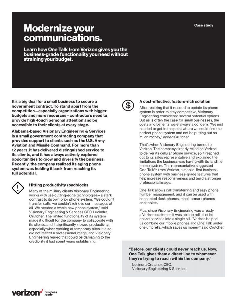 Modernize Your Communications