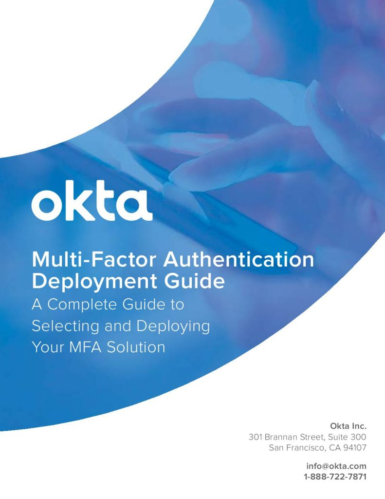Multi-factor Authentication Deployment Guide