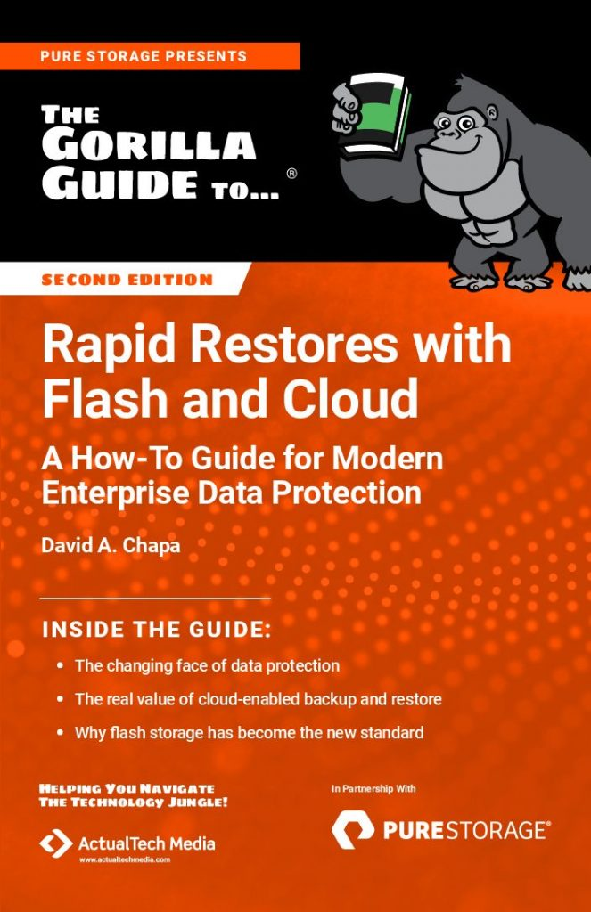 The Gorilla Guide to Rapid Restores with Flash and Cloud